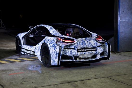 Sistemul hibrid de pe BMW Vision are 3 motoare, unul diesel si doua electrice, puterea totala fiind de 328 CP