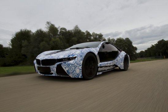 Prototipul BMW Vision atinge 100 km/h in doar 4,8 secunde si consuma numai 3,76 litri/100 km
