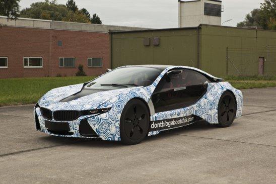 BMW Vision EfficientDynamics a ajuns in faza de prototip functional