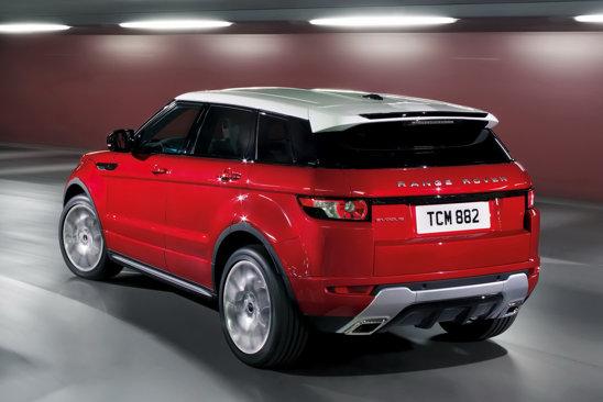 Partea laterala a lui Range Rover Evoque da dovada de mai mult spirit practic