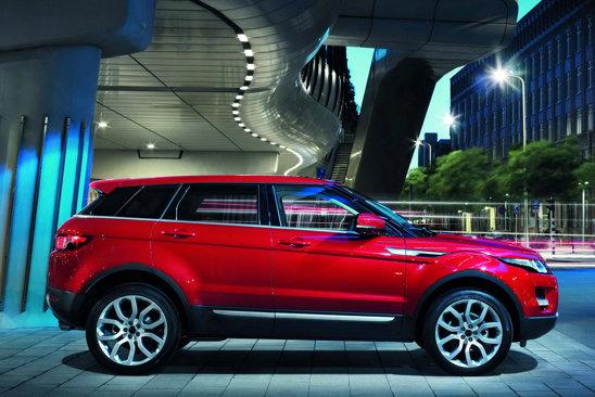 Range Rover Evoque in 5 usi are aceeasi lungime de 4,35 metri ca si versiunea in 3 usi