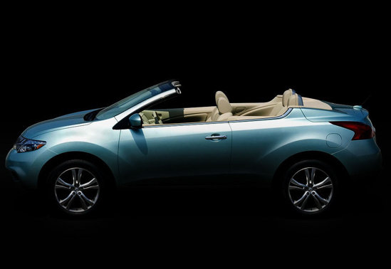 Nissan Murano CrossCabriolet, prima imagine oficiala