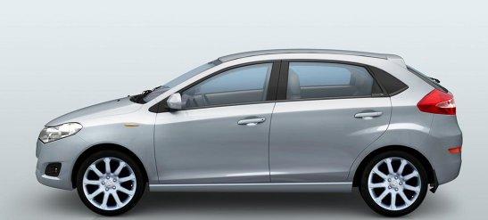 DR3, un model italian fabricat de chinezii de la Cherry, va rivaliza cu Dacia Sandero din 2011