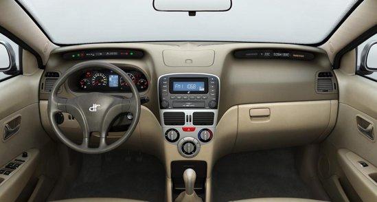 Interiorul lui DR3 este relativ simplu, dar ergonomic. Ramane de vazut nivelul calitatii
