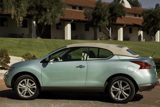 Nissan Murano CrossCabriolet are motor V6 de 3,5 litri, cutie CVT si tractiune 4x4