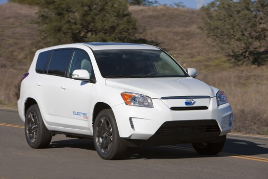 Versiunea de serie Toyota RAV4 EV va fi lansata in vanzare in 2012