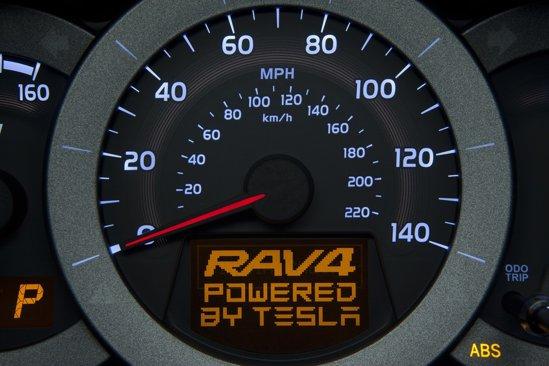 Sistemul electric de propulsie al lui Toyota RAV4 EV este dezvoltat de Tesla