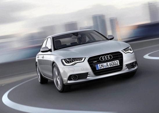 Audi A6 beneficiaza de tractiune integrala quattro, standard pe versiunile V6 puternice