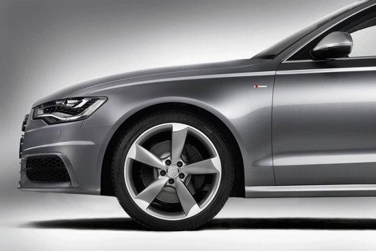 La noul Audi A6, 20% din structura caroseriei este din aluminiu