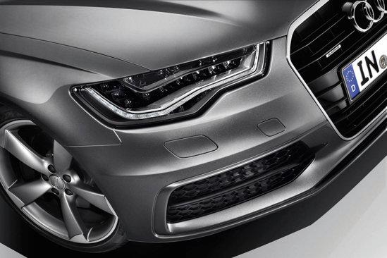 Optional, farurile lui Audi A6 pot fi dotate cu tehnologia all-LED