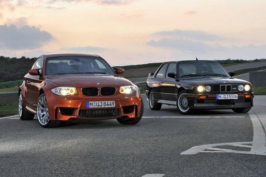 BMW Seria 1 M Coupe se doreste un omagiu adus primului BMW M3 E30, din 1988