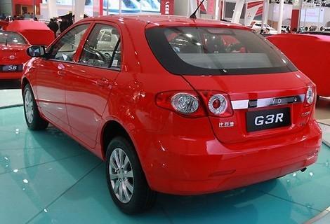BYD G3R, o compacta de categoria lui Dacia Sandero, este faceliftul lui BYD F3
