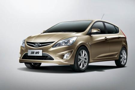 Viitorul Hyundai Accent hatchback european este prefigurat de Verna Reina in China