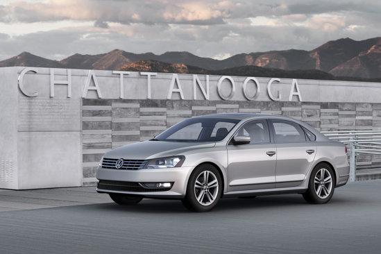 Noul model pe care il arata VW la Detroit 2011: Volkswagen Passat pentru USA