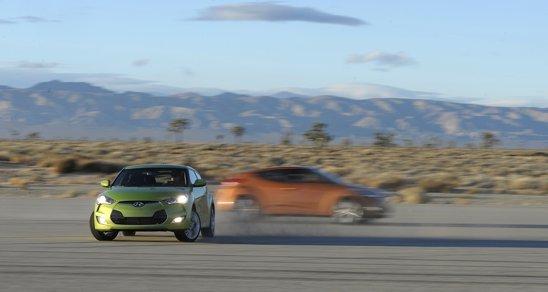 Hyundai Veloster este oferit cu un motor turbo de 1,6 litri si 138 CP