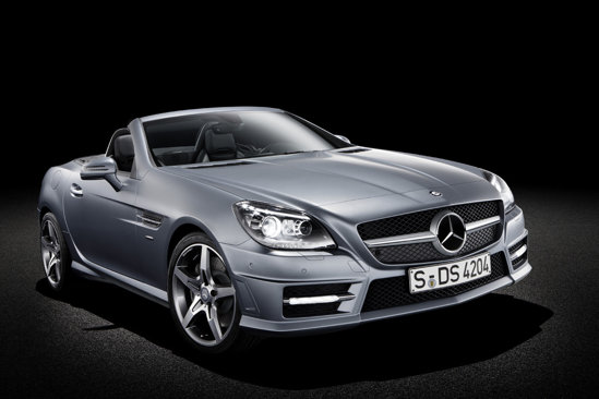 Cea de-a treia generatie Mercedes SLK este mai sobra si aminteste de SLS AMG