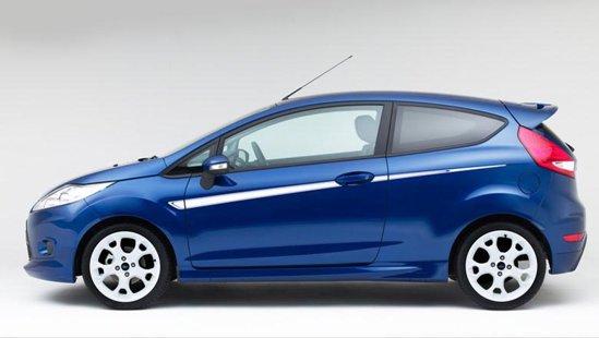 Ford Fiesta Sport+ mizeaza pe un aspect exterior destul de agresiv