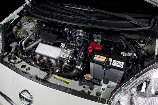 Nissn Micra DIG-S are un motor de 1,2 litri, in trei cilindri si dotat cu compresor mecanic