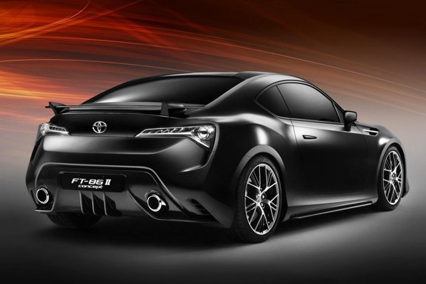 Toyota FT-86 II Concept are un spate care mizeaza pe agresivitate si sportivitate