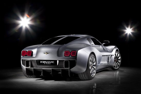 Gumpert Tornante are un design exterior elaborat, fiind mai elegant decat Apollo