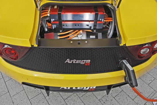 Artega GT SE renunta la motorul V6 pentru doua motoare electrice, cu o putere de 380 CP