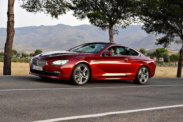 Noul BMW Seria 6 Coupe are un exterior similar cu al conceptului de la Paris 2010