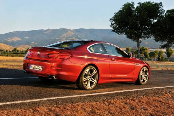 Noul BMW Seria 6 va fi pus in vanzare mai intai pe piata americana