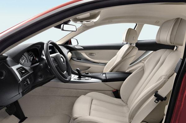 BMW Seria 6 Coupe - interior echipat princiar si o gramada de sisteme electronice ultimul racnet