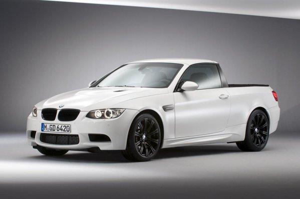BMW M3 Pick-Up este cel mai rapid pick-up din lume, nefiind o gluma de 1 aprilie