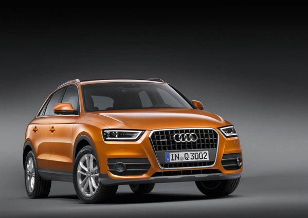 Noul Audi Q3 - premiera mondiala la Salonul Auto Shanghai 2011