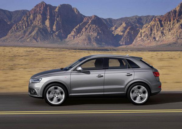 Noul Audi Q3 va fi oferit cu un 2.0 TFSI (de 170 si de 211 CP) si cu un 2.0 TDI (de 140 si de 177 CP)