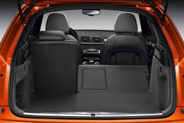 Audi Q3 are un portbagaj care variaza intre 460 litri si 1.300 litri
