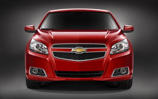 Chevrolet Malibu are o caroserie mai aerodinamica si un sistem de control al fantelor de aerisire