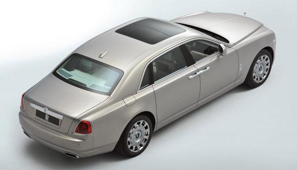Rolls Royce Ghost EW va fi produs intr-o editie limitata de exemplare
