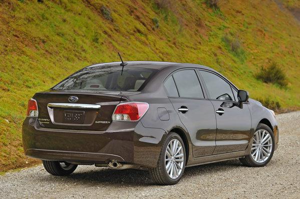 Noul Subaru Impreza anunta cel mai redus consum pentru o berlina 4x4 in segmentul sau