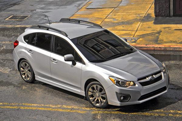 Designul noului Subaru Impreza este total schimbat, iar ampatamentul este mai mare cu 25 mm