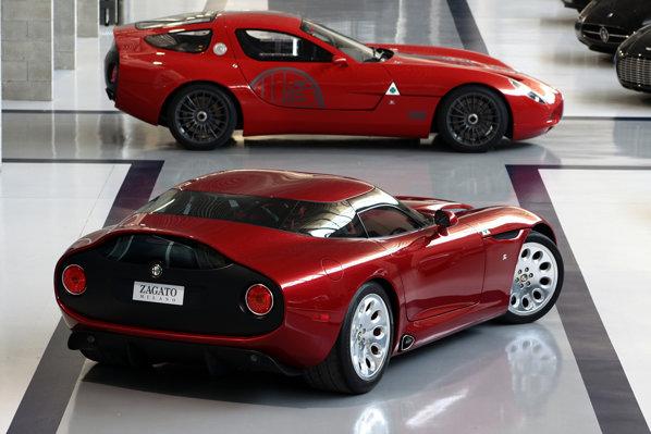 Zagato TZ3 Stradale presupune destule modificari stilistice fata de TZ3 Corsa