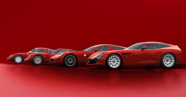 Zagato TZ3 Stradale va fi produsa in doar 9 exemplare. Pretul nu se stie deocamdata