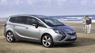 Noul Opel Zafira Tourer - informaţii şi imagini oficiale