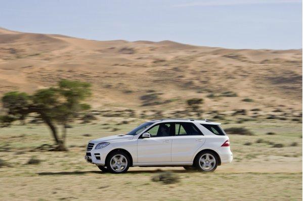 Versiunea diesel ML 250 CDI poate ajunge la o autonomie de 1500 km, consumand 6 litri/100 km
