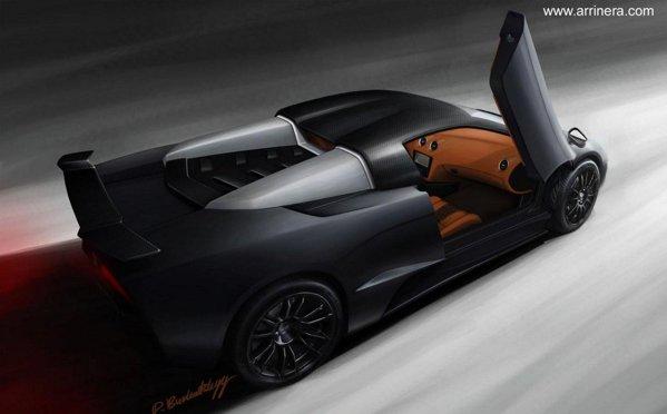 Motorul de pe Arrinera Venocara provine de la Corvette ZR1, avand 640 CP si 820 Nm
