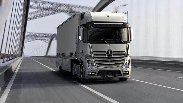 Noul Mercedes-Benz Actros