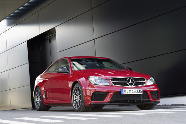 Mercedes-Benz C 63 AMG Coupe Black Series afiseaza 510 CP si 620 Nm