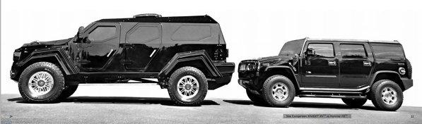 O comparatie mica intre Conquest Knight XV si Hummer H2