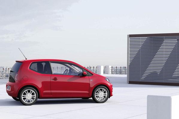 Volkswagen Up! are o lungime de 3,54 metri si un ampatament de 2,42 metri