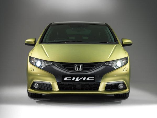 Noua Honda Civic are o parte frontala redesenata, in stilul lui Insight