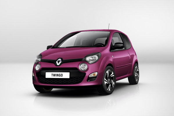 Noul Renault Twingo a fost punctul de atractie al standului francez.