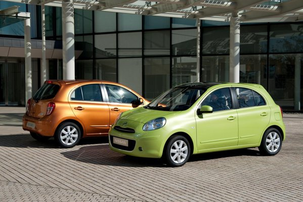 Nissan Micra are un pret de baza in Romania de 7.800 euro, cu TVA si 3 prime de casare