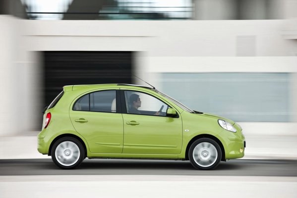 Suspensia noua a lui Nissan Micra ii confera atat confort, cat si o buna agilitate in oras