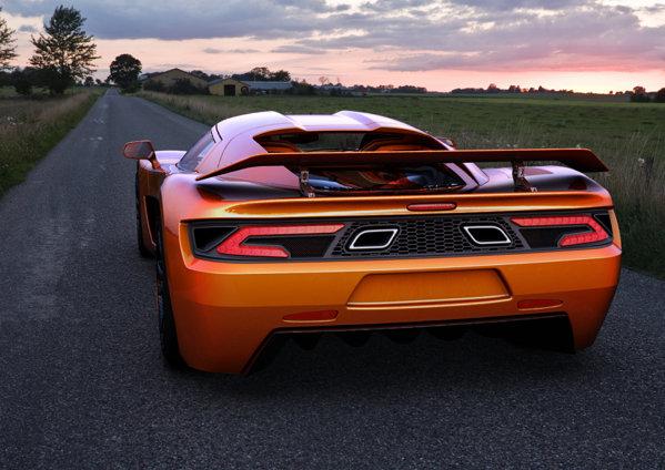 Genty Akylone are un motor V8 cu doua turbocompresoare, 1.000 CP si 1.200 Nm